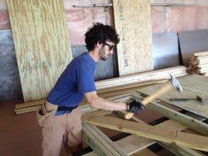 Ethan, carpenter.
