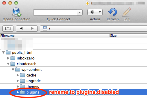 How to Disable All WordPress Plugins